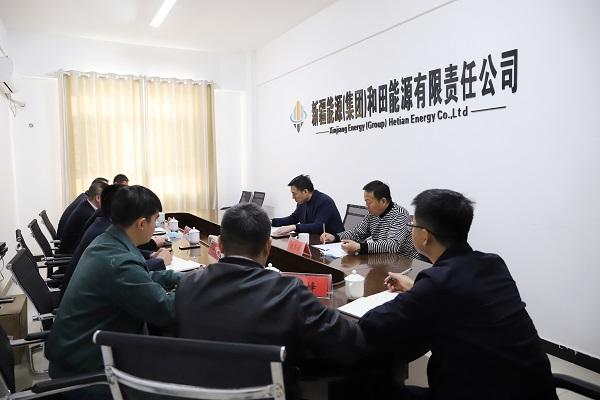 王韶辉到和田bwin体育公司调研指导工作